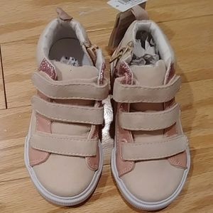 Gap Baby girls high tops size 9 .